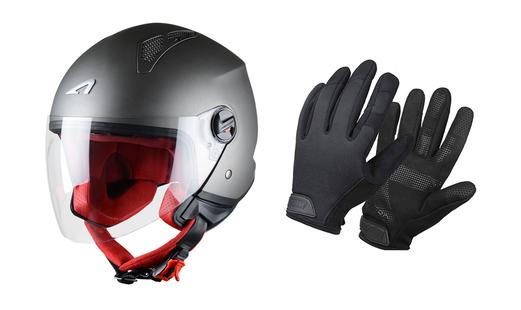 Set casque et gants - Scooter électrique - EPIQS